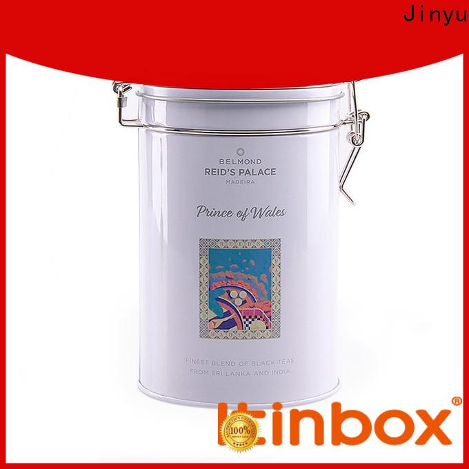 Jinyu useful custom tin box factory for packing