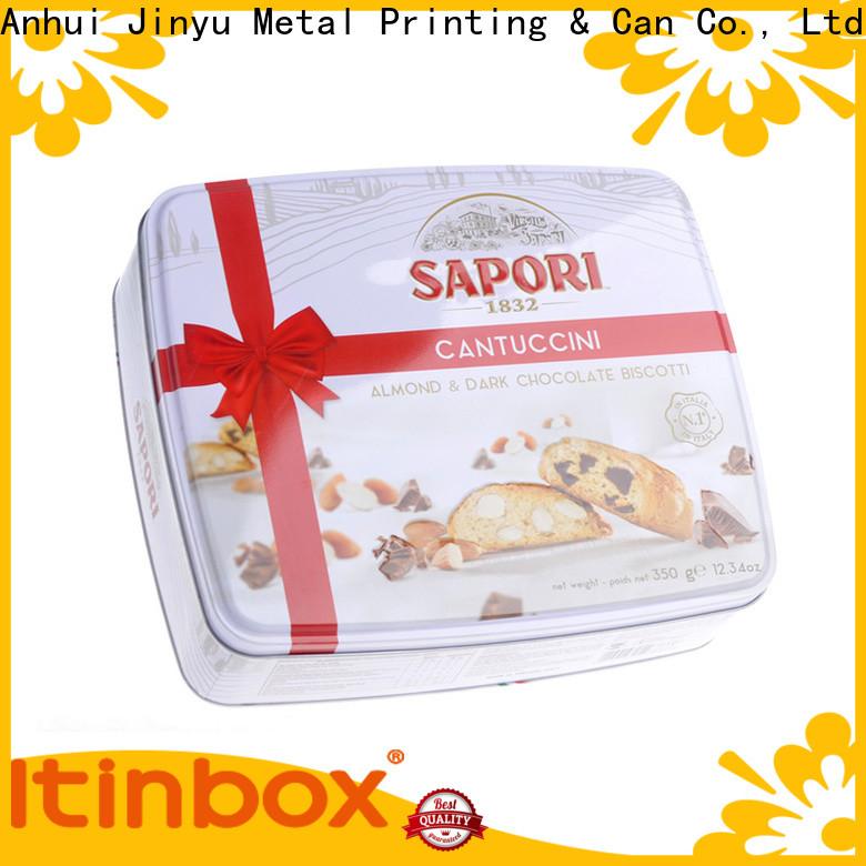 Jinyu metal food tray marketing for supermarket