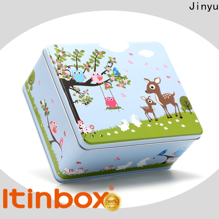 new-arrival decorative tin containers factory for candy
