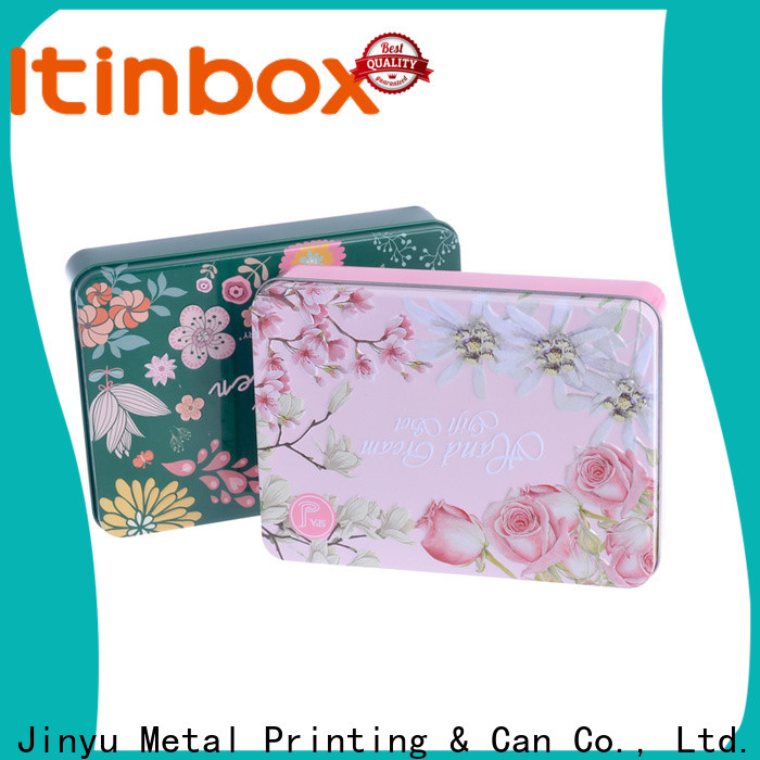 newly tin gift box for candy