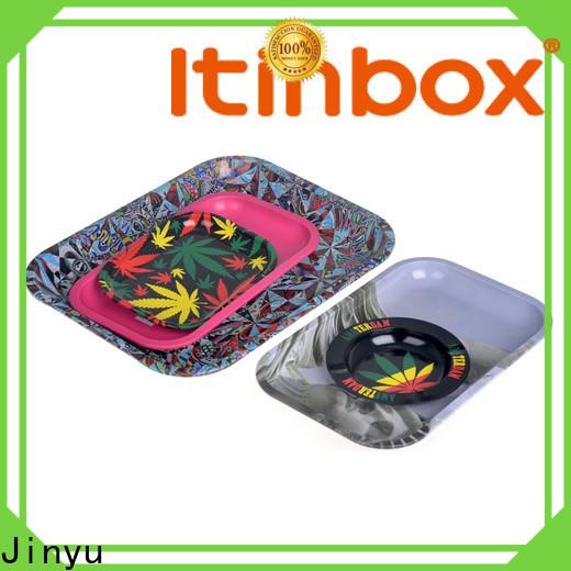 inexpensive round tin trays China for supermarket