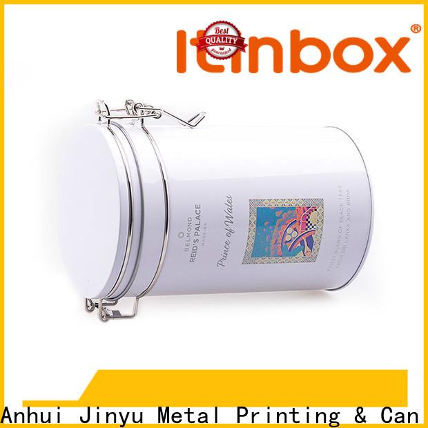 Jinyu custom tin box factory for home use