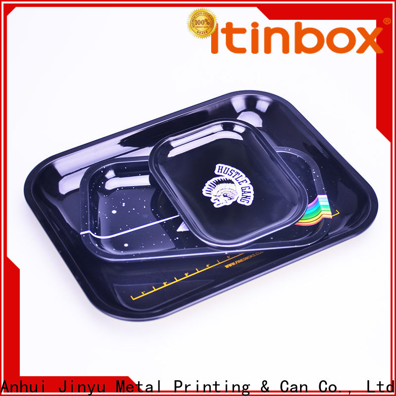 Jinyu tin food trays effectively for work