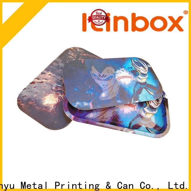 Jinyu bulk tin trays popular for candy