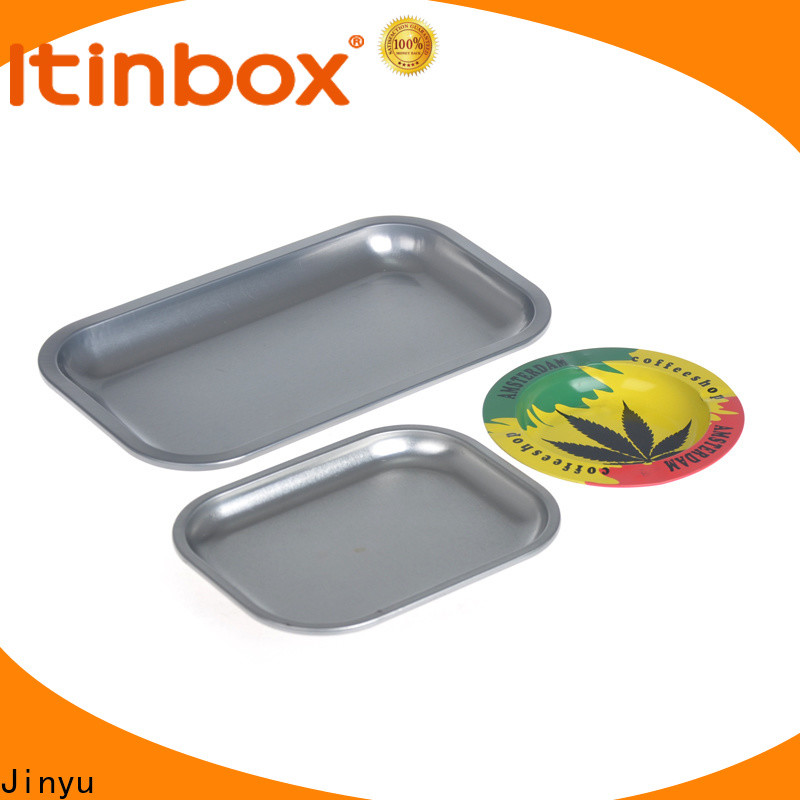 nice metal rolling tray production for gift