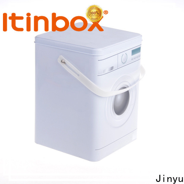 Jinyu distinguished laundry powder tin for-sale for candy