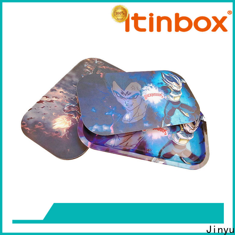 Jinyu excellent best rolling trays for home use