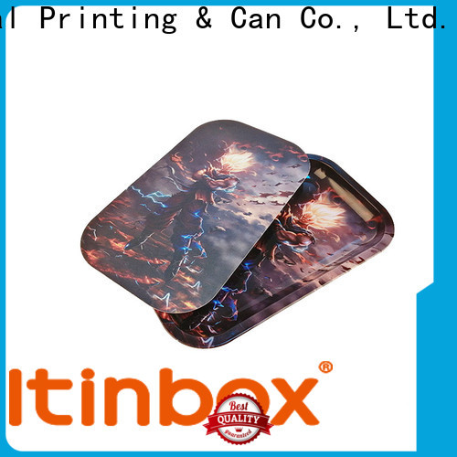 inexpensive tin tiered tray widely-use for supermarket