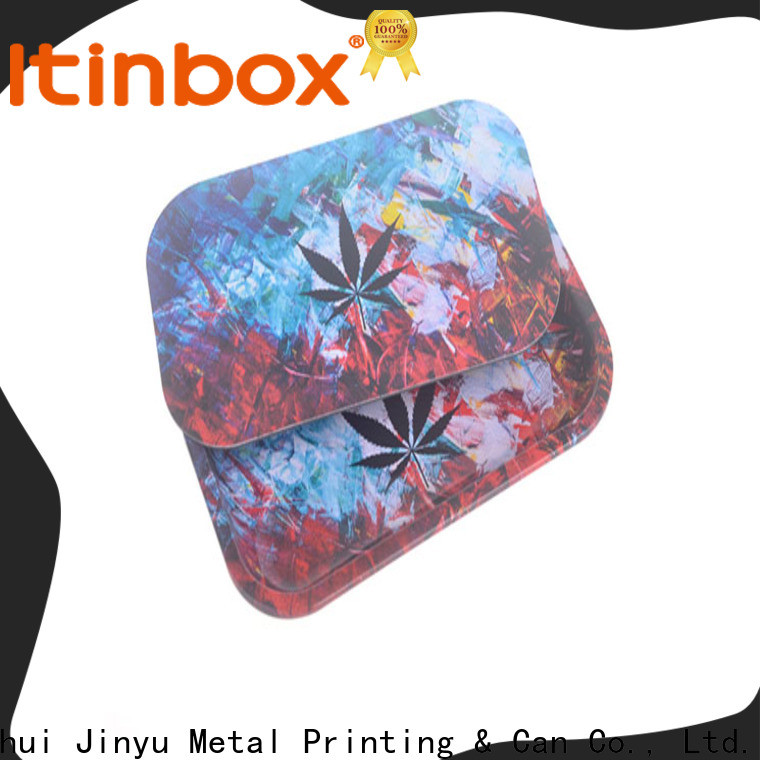 Jinyu best rolling tray production for candy