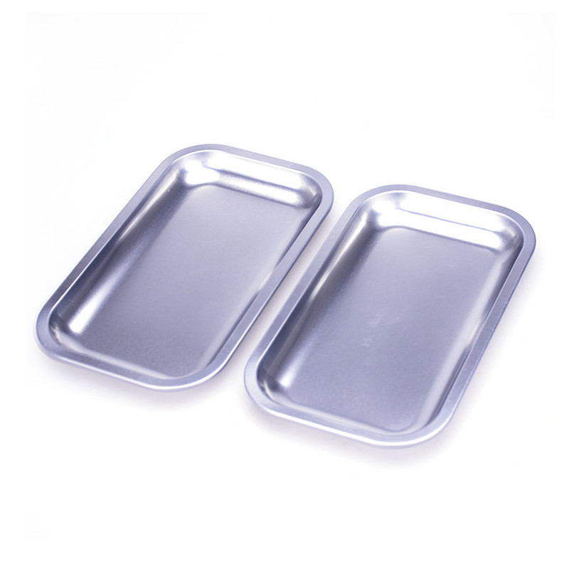 Jinyu tin tea tray effectively for supermarket