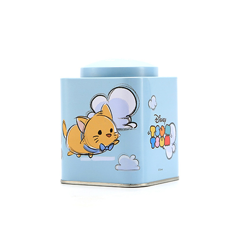 Square pet food tin box