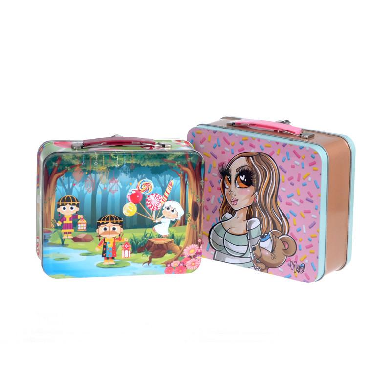 Large lunch tin box