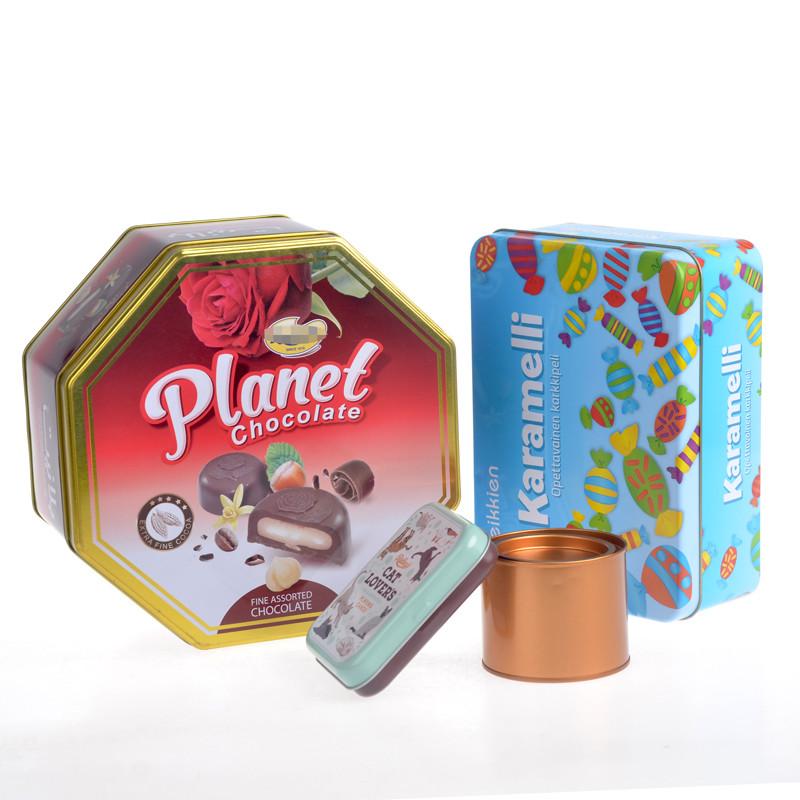 Itinbox chocolate tin