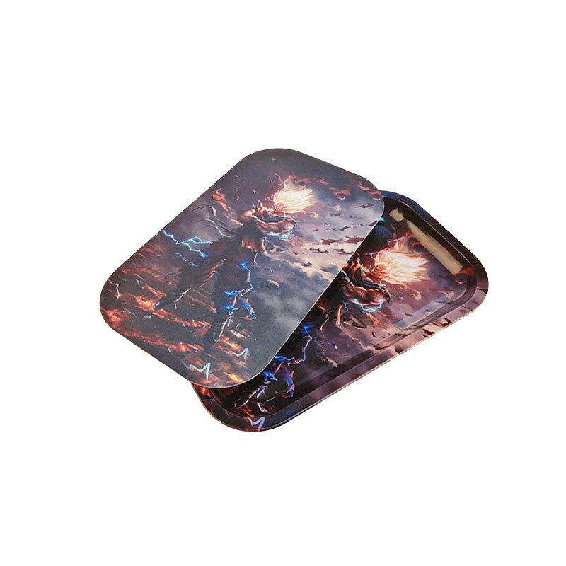 Itinbox Tin Tray With Magnetic Cover