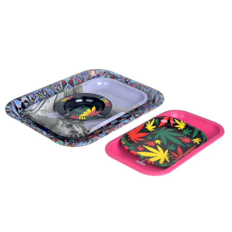 ITINBOX food serving metal tin tray