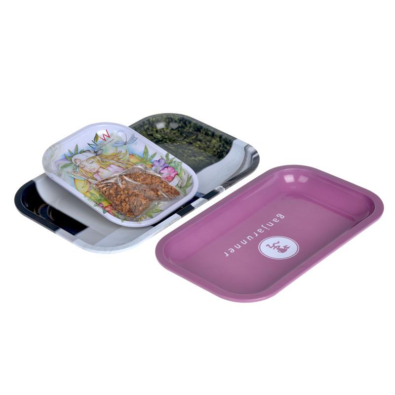 Itinbox round tin trays