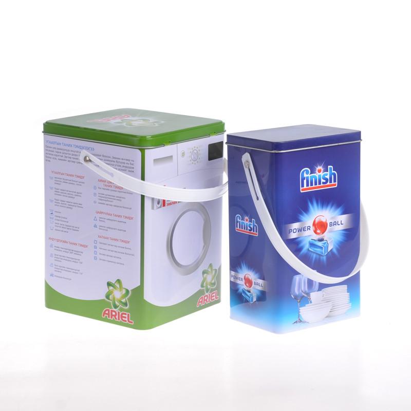 Itinbox laundry tin container
