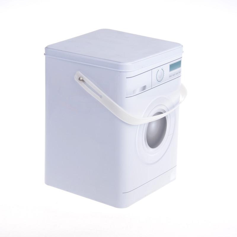 Itinbox grey washing powder tin