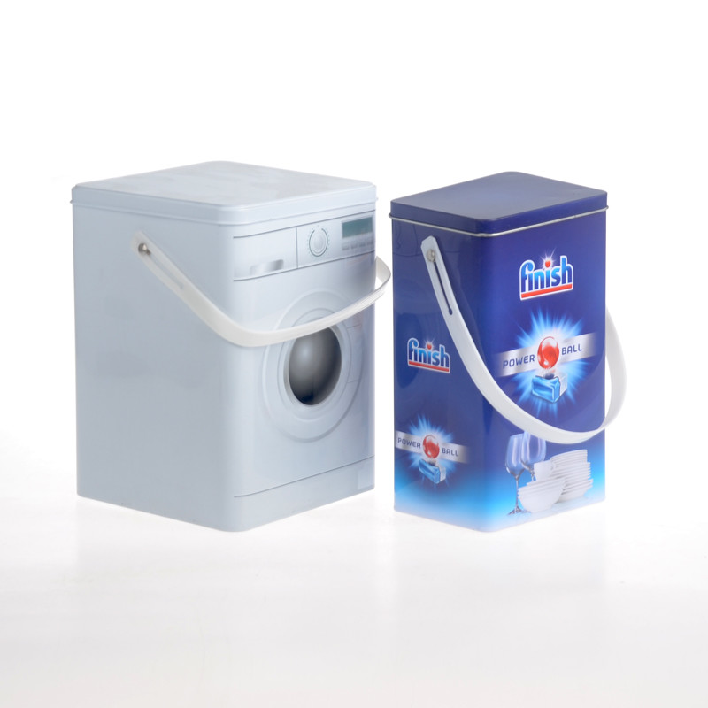 Jinyu laundry detergent tin box effectively for office