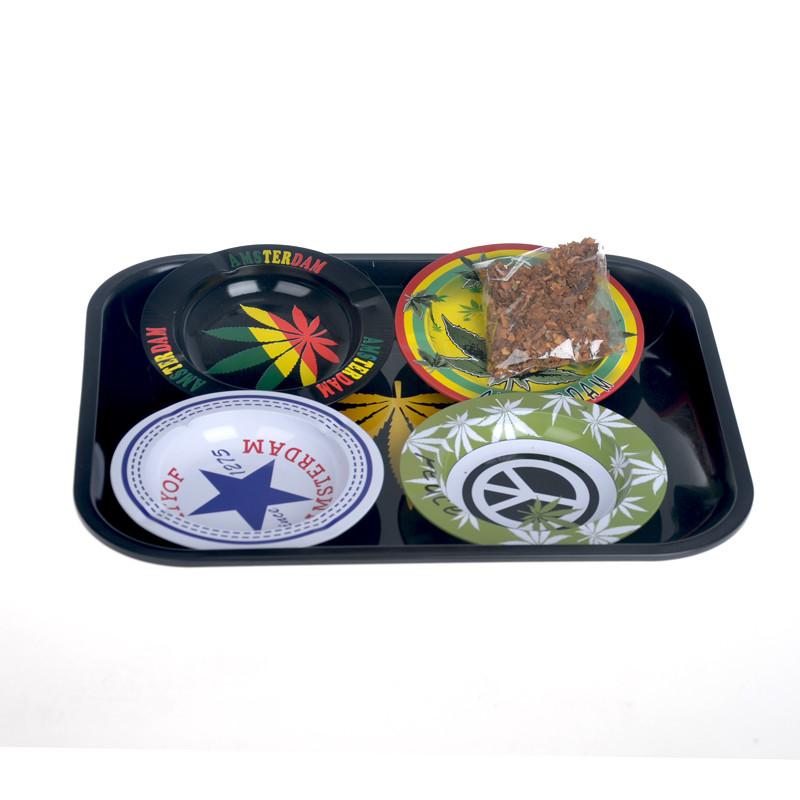 Itinbox ashtray tin printed