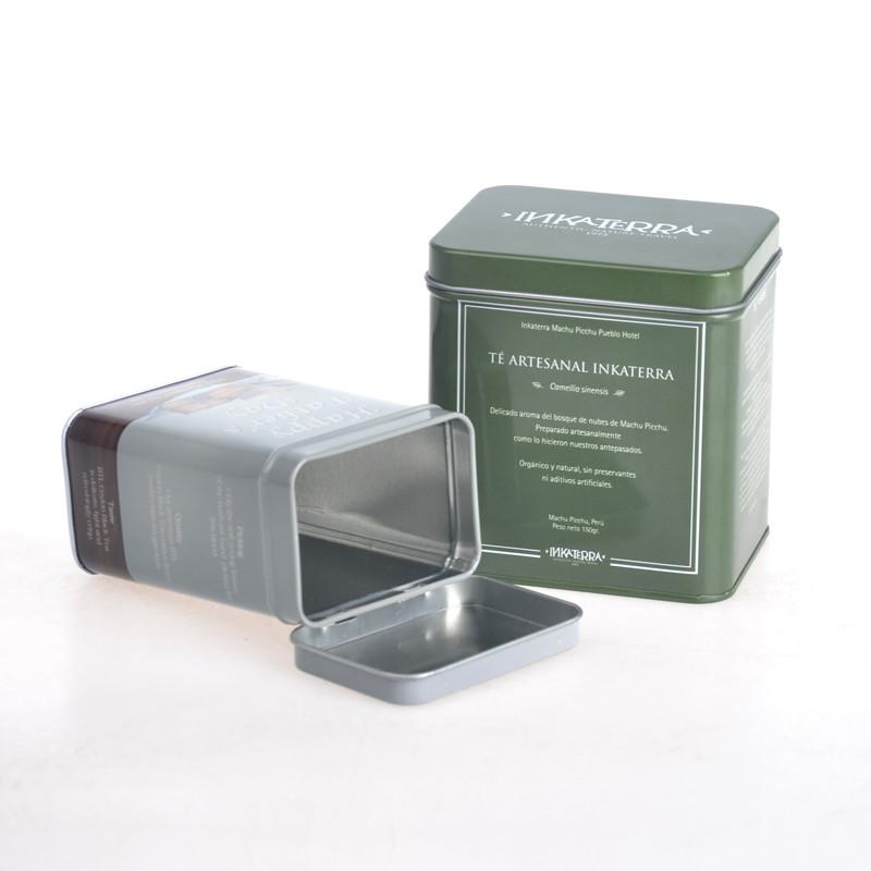 ITINBOX metal tea canister