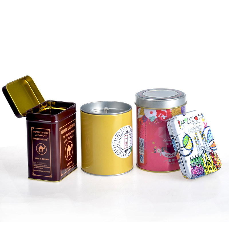 ITINBOX tin tea caddy