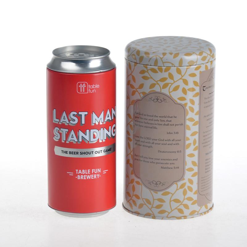 ITINBOX illy coffee tin can
