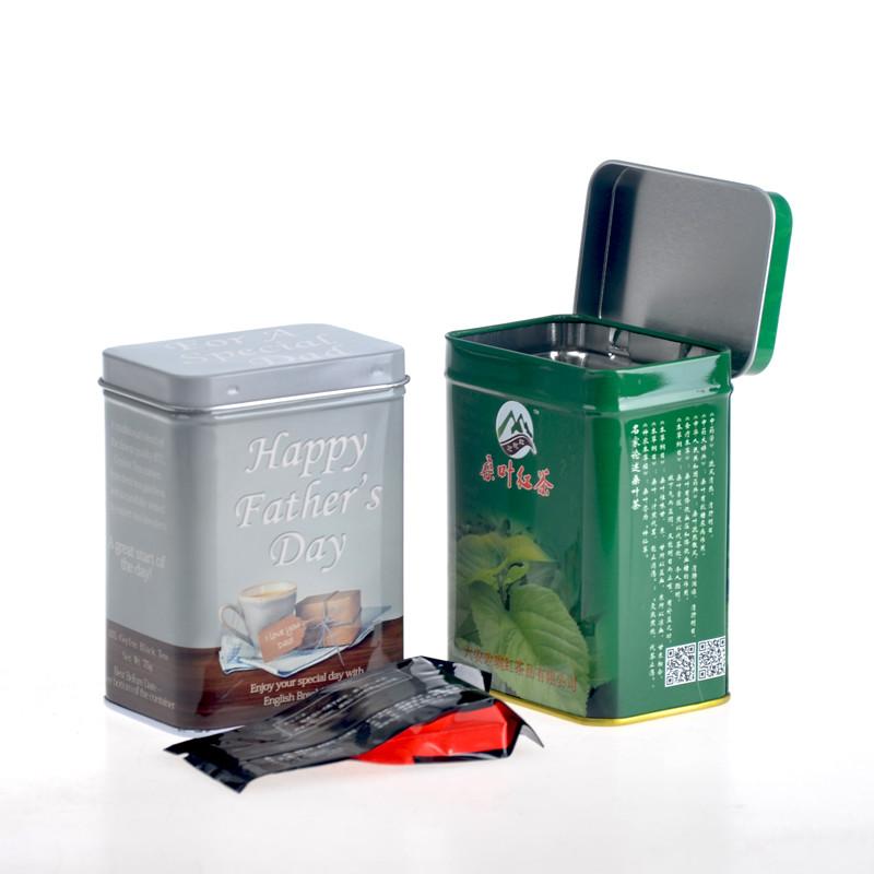 ITINBOX vintage tea tin