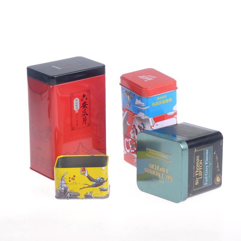 ITINBOX tea tin set